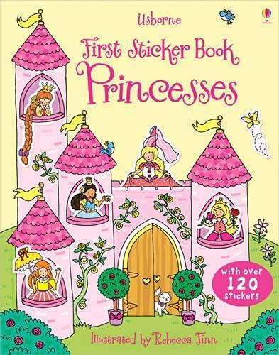 9781409551546: Princesses (Usborne First Sticker Books)