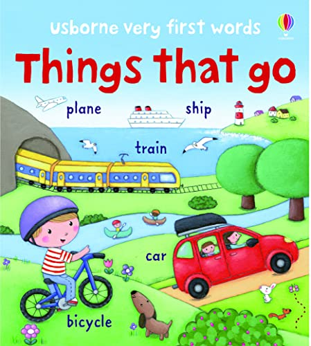 9781409551799: Very First Words Things That Go (Usborne Very First Words)
