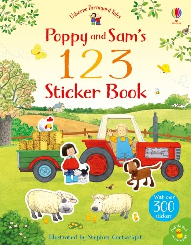 9781409551812: Farmyard Tales 123 Sticker Book