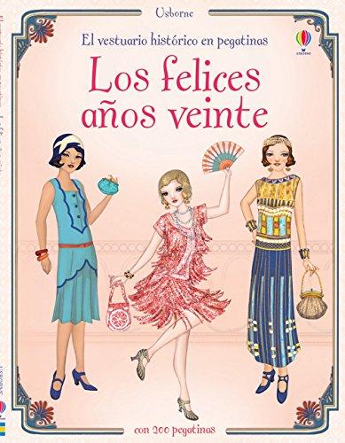 9781409553823: Los Felices Años Veinte. El Vestuario Histórico En Pegatinas