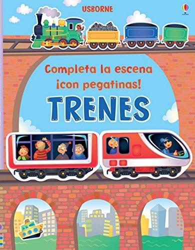 9781409553854: Trenes. Completa La Escena Con Pegatinas