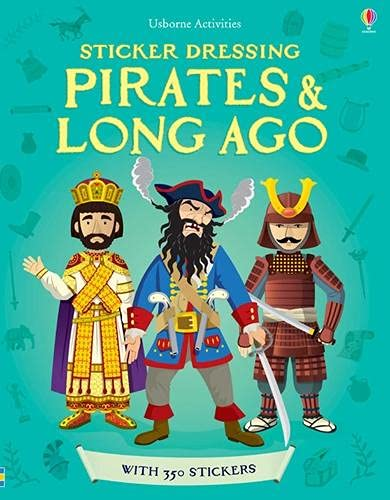 9781409554639: Pirates and Long Ago Bind-up (Usborne Sticker Dressing)
