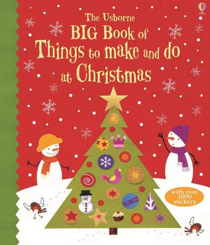 9781409555674: Big Book of Christmas Things to Make and Do (Usborne Activity Books)