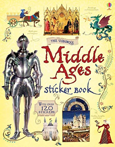 9781409556039: The middle ages sticker book