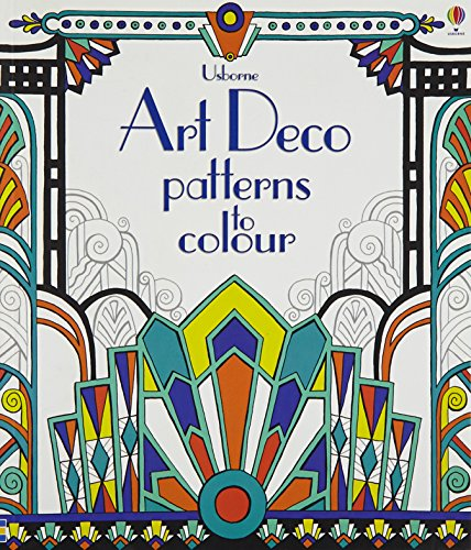 9781409556145: Art Deco Patterns to Colour (Colouring Books)