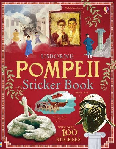 9781409556336: Pompeii sticker book. Con adesivi (Information Sticker Books)