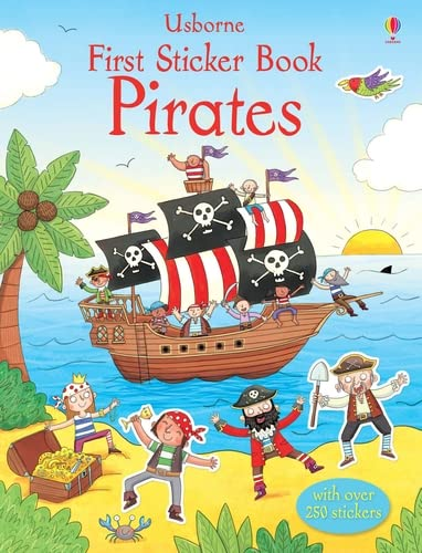 9781409556725: First Sticker Book Pirates (First Sticker Books)