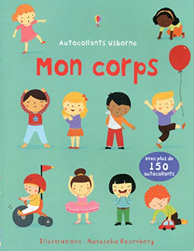 9781409557951: Mon corps - Autocollants Usborne