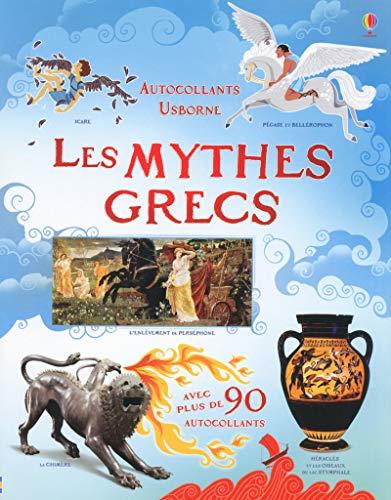 9781409559290: Les mythes grecs - Autocollants Usborne (documentaires)