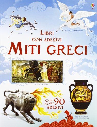 9781409559306: Miti greci. Con adesivi