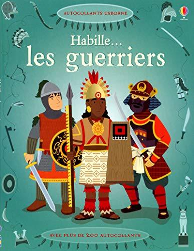 9781409559696: Habille... Les guerriers - Autocollants Usborne