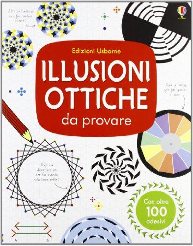9781409559825: Illusioni ottiche da provare. Con adesivi. Ediz. illustrata