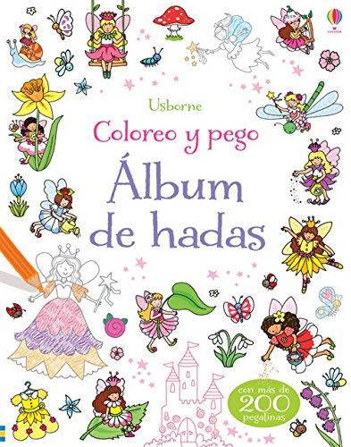 9781409559924: Álbum de hadas. Coloreo y pego