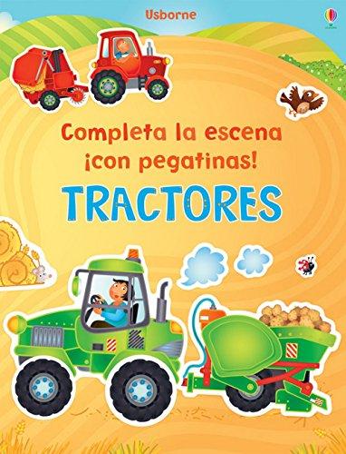 9781409560012: Tractores. Completa La Escena ¡Con Pegatinas!