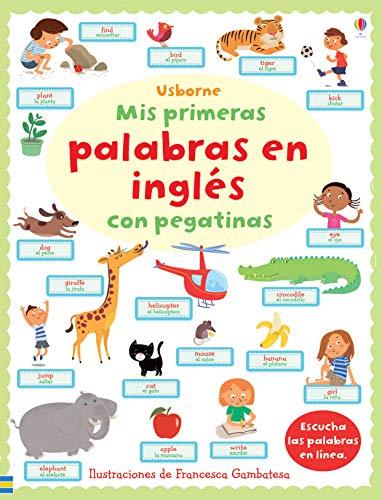 9781409560425: Mis Primeras Palabras Inglés Con Pegatinas