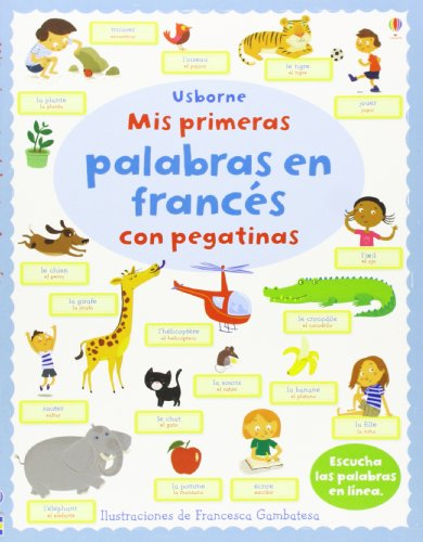 9781409560449: Mis Primeras Palabras En Francés Con Pegatinas