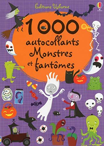 1000 autocollants monstres et fantômes: Watt, Fiona