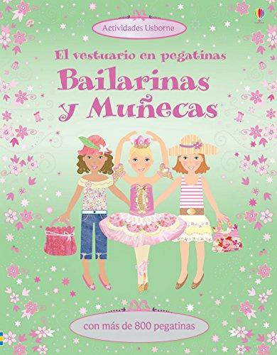 9781409561323: Bailarinas Y Muñecas. El Vestuario En Pegatinas
