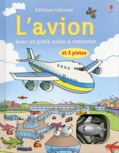 9781409561514: Livres avec jouet à remonter : L'avion