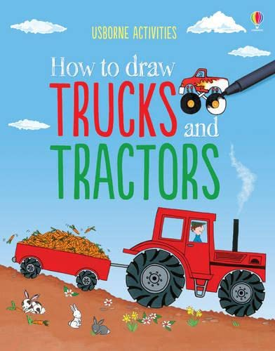 9781409561996: How to Draw Trucks and Tractors