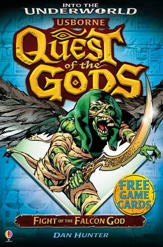 9781409562009: Fight of the Falcon God (Quest of the Gods)