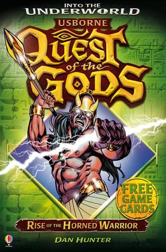 9781409562023: Rise of the Horned Warrior (Quest of the Gods)