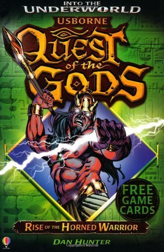 9781409562030: Rise of the Horned Warrior (Quest of the Gods)