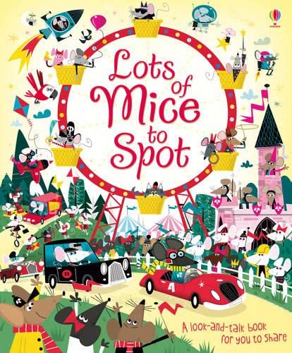 Lots of Mice to Spot: Louie Stowell