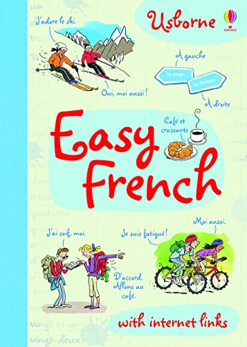 Easy French 9781409562504 An introduction to French for English speakers of all ages. Easy phrases, useful vocabularly and simple grammar, accompanied by lively illustrations. A helpful back-up for language learning at school.