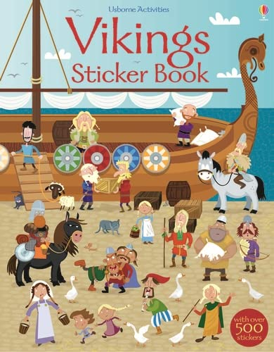 9781409563433: Vikings Sticker Book (Sticker Books)