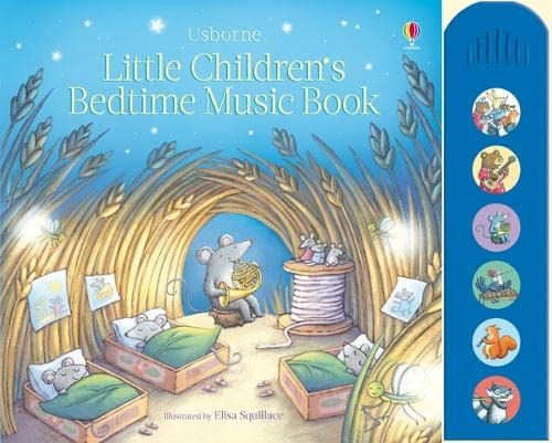 9781409563457: Little Children's Bedtime Music Book