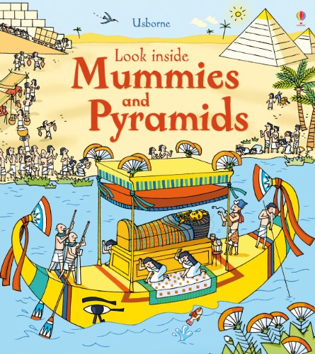 9781409563921: Look Inside Mummies and Pyramids (Look Inside Board Books)