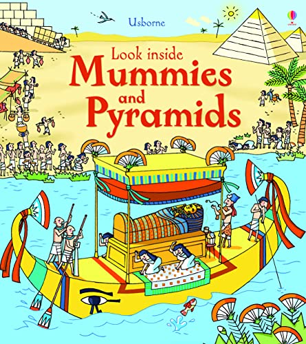 9781409563921: Look Inside Mummies & Pyramids: 1 (Look Inside Board Books)