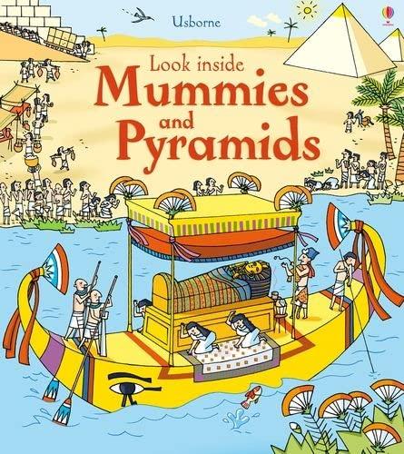 9781409563921: Look Inside Mummies and Pyramids (Look Inside Board Books)