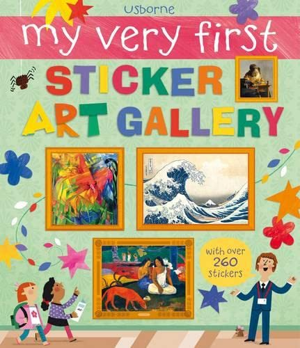9781409564133: My Very First Sticker Art Gallery (My Very First Art)