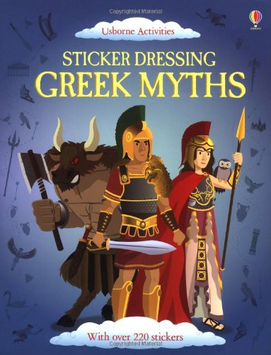 9781409564287: Sticker Dressing Greek Myths