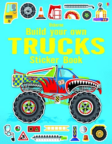 9781409564430: Build Your Own Trucks Sticker Book (Build Your Own Sticker Book)