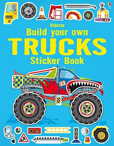 9781409564430: Build Your Own Trucks Sticker Book (Build your own sticker books): 1