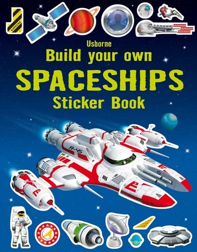 9781409564447: Build Your Own Spaceships Sticker Book