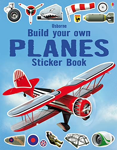 9781409564485: Build Your Own Planes Sticker Book (Build Your Own Sticker Book)