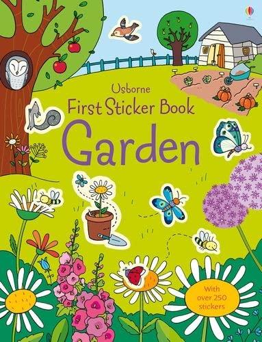 9781409564652: First Sticker Book Garden (First Sticker Books)