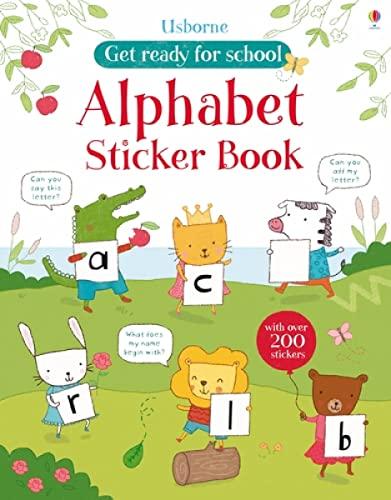 9781409564669: Alphabet Sticker Book (Get Ready for School Sticker Books)