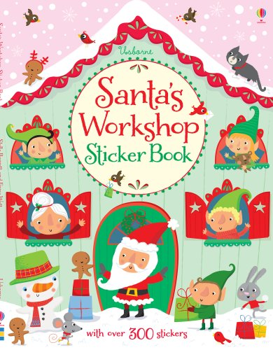 9781409565123: Santa's Workshop Sticker Book