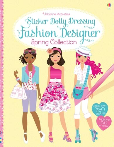 9781409565147: Sticker Dolly Dressing Fashion Designer Spring Collection