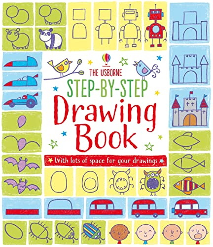 9781409565192: Step-By-Step Drawing Book