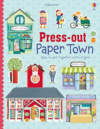 9781409565239: Press-Out Paper Town (Press Outs)