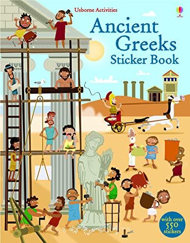 9781409565277: Ancient Greeks Sticker Book