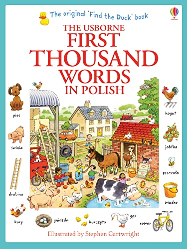 9781409566137: First Thousand Words in Polish (Usborne First Thousand Words)