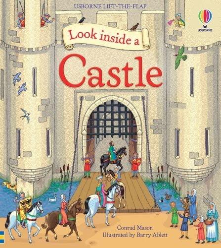 9781409566175: Look Inside a Castle (Usborne Look Inside)