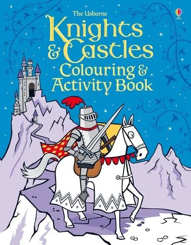 9781409566236: Knights & Castles Colouring and Activity Book (Colouring & activity books)